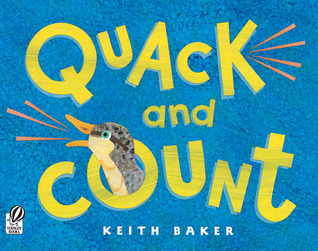 Quack and Count by Keith Baker book cover photo