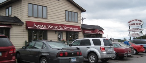 Beaver Bay Agate Shop and Museum, outside photo