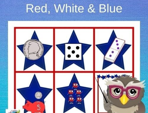 July 4th Names for Numbers Math Game Free PDF