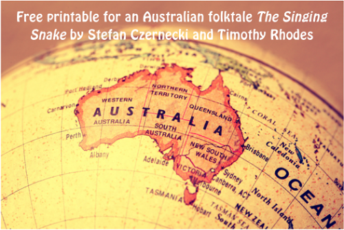 Free Printable for an Australian Folktale