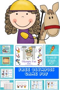 Olympics-vocabulary-matching-cards-free-printable