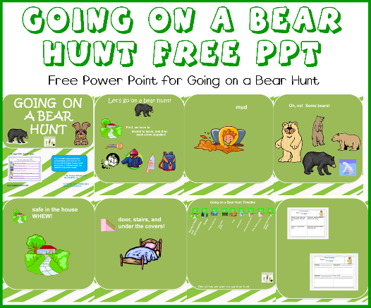 Free Resources for Going on a Bear Hunt