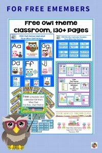 owl-theme-classroom-decor-and-schedule-freebie