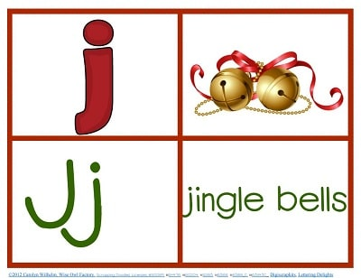 letter-j-page-Christmas-theme-alphabet-freebie