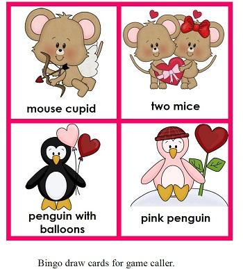 Free Valentine's Bingo Game