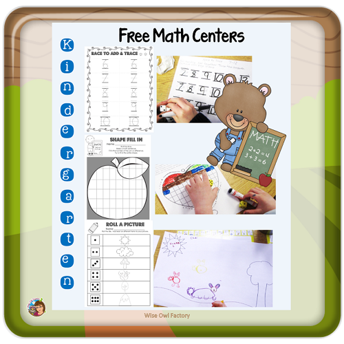 Free Math Primary Grades Resources