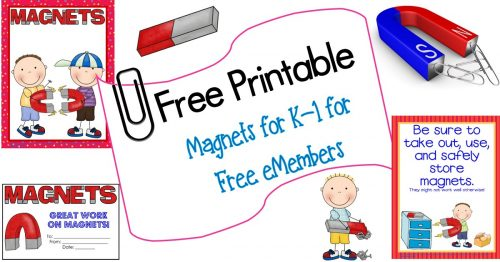 picture relating to Printable Classroom Posters referred to as Magnets Totally free Printable with Letter Measurement Instruction Posters