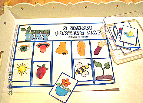 Earth-day-sorting-activity-on-tray