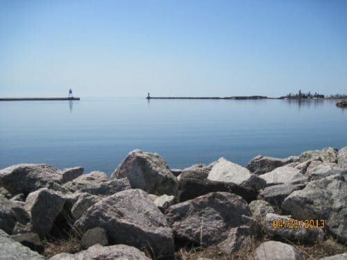 Photo of the Grand Marais, MN harbor