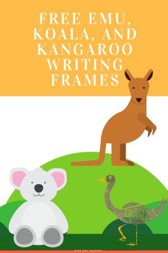 emu-koala-and-kangaroo-writing-frames-freebies