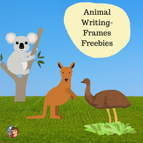 free-animal-writing-frames