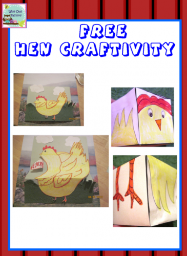 info photo for two hen crafts