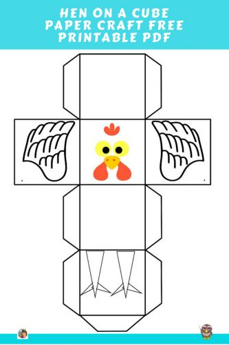 hen-craft-on-a-paper-cube-craft-free-printable-with-step-by-step-instructions