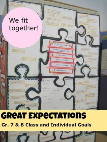 Promoting a Class Community Free Puzzle Printable