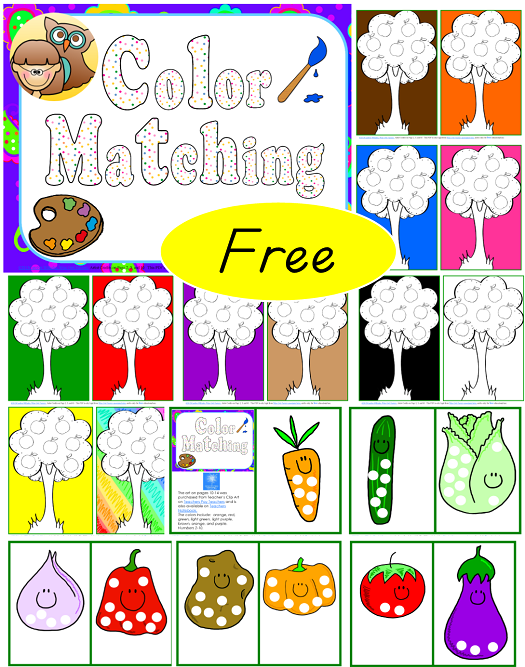 graphic about Printable Sequencing Cards titled Sequencing Playing cards and Shade Matching for Pre K-K-1 No cost PDFs