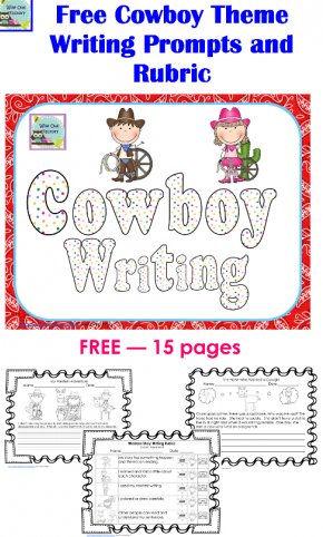 Three Free Western Theme Printables