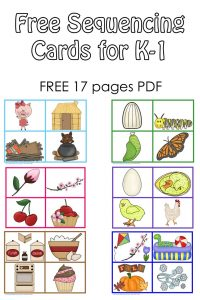 photo regarding Printable Sequencing Cards for Adults known as Sequencing Playing cards and Coloration Matching for Pre K-K-1 Cost-free PDFs