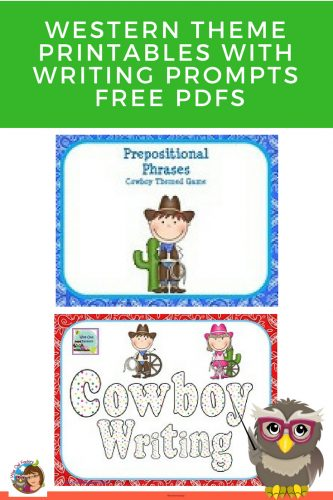 western-theme-educational-resource-download-free-printables