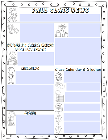 fall-class-news-free-editable-newsletter-for-k-2-classrooms