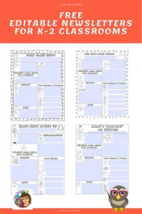 k-2-editable-free-newsletters-for-classrooms-information-sharing-with-parents