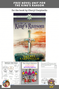 The-Kings-Ransom-freebie-novel-unit-instant-download