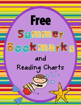 free summer reading bookmarks and reading records printable