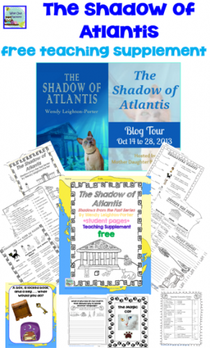 Shadow of Atlantis by Wendy Leighton-Porter, free teaching supplement printable