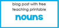 free nouns printable
