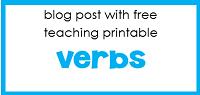 free verbs printable