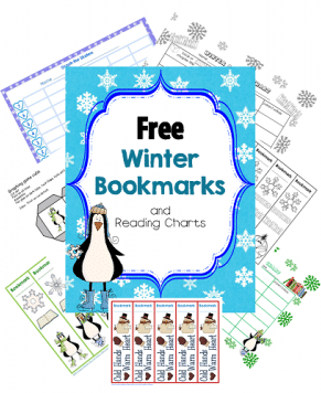 free-winter-theme-bookmarks