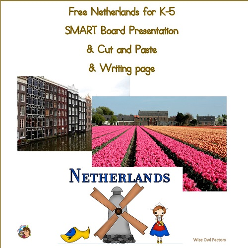 Netherlands-free-presentation-k-5-writing-cut-and-paste