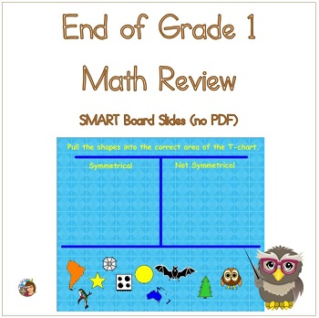 end-of-year-math-SMART-Board-interactive-slides-review-grade-1