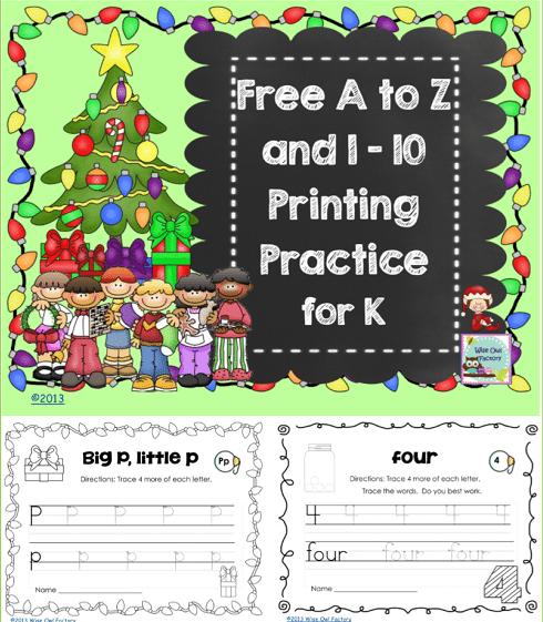 free-December-kindergarten-manuscript-practice-cover
