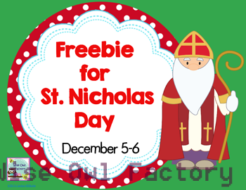 St. Nicholas Day in the Netherlands Free PDF