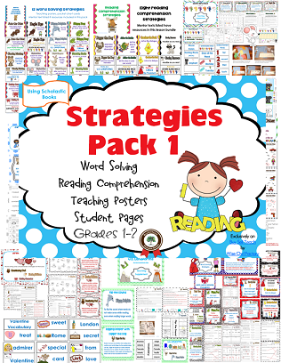 Reading Strategies free-reading-strategies-and-word-solving-pack