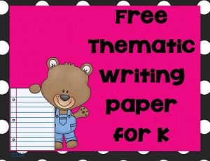 free-thematic-Kindergarten-writing-paper