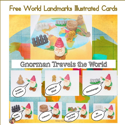 free-world-landmarks-illustrated-cards