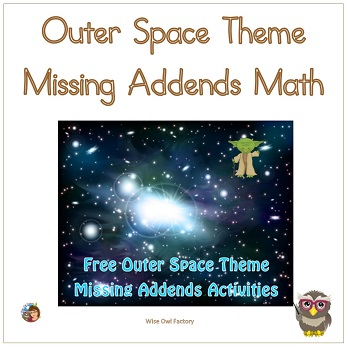 missing-addends-math-space-theme-activities