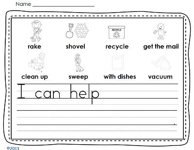 sentence-writing-page-kindergarten-pack