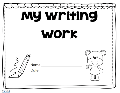 writing-work-one-possible-option-cover-free-printable-kindergarten