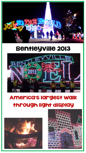 AMERICA'S LARGEST FREE WALK THROUGH LIGHTING DISPLAY
