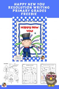 New-Year-Resolution-Writing-Primary-Grades-Free-printable