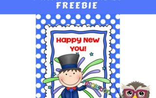 New-Year-Resolution-Writing-Primary-Grades-Freebie