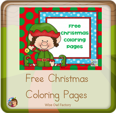 December Freebies Elementary Education