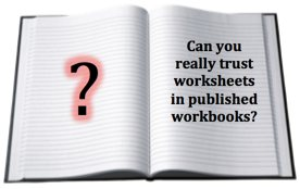 Can You Really Trust Worksheets in All Published Workbooks?
