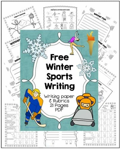 Two Winter Sports Free Printables