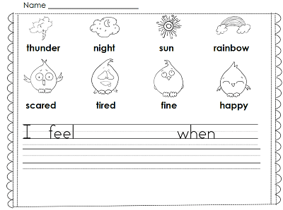 I-feel-page-first-grade-writing-through-year-pack-freebie