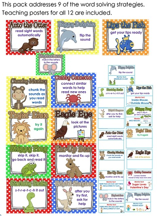 the word solving strategy posters