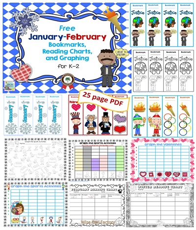 January Free Resources for Primary Teachers