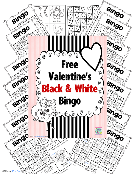 New Free Valentine's Day Bingo Game